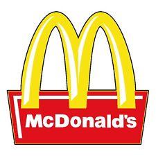 "McDonalds Vinyl Sticker Decal 6"" (full color)"