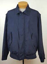 Ermenegildo Zegna x Yachting Navy Blue Zipper Coat Jacket Removable Sleeves Sz L