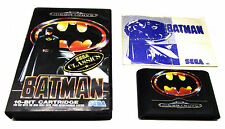 BATMAN OZISOFT SEGA MEGA DRIVE GAME VERY RARE SUIT BATMAN COLLECTOR GENESIS +F.P