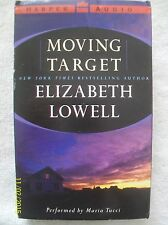 Moving Target by Elizabeth Lowell (2001, 4 Audio Cassettes, Abridged)