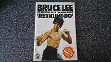 BRUCE LEE JEET KUNE DO MY MARTIAL ARTS TRAINING GUIDE WITH POSTER ATTACHED
