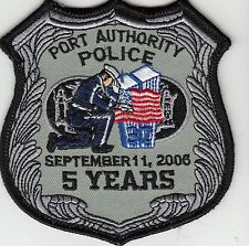 PORT AUTHORITY POLICE (5 YEARS) NEW YORK NEW JERSEY PATCH NY NJ