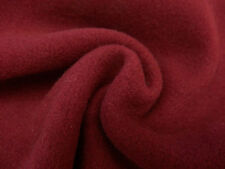 Cranberry Italian Pure Wool Coating - water-repelling