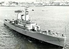 ROYAL NAVY FRIGATE HMS LEANDER - NAME SHIP OF HER CLASS c 1965