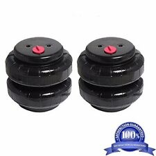 "Air Ride Suspension Air Bags Pair Standard 2500 1/2""npt Kit Replacement Parts"