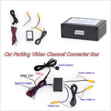 12V Autos Front Rear Parking View Camera 2-Channel Converter Mini Box Universal