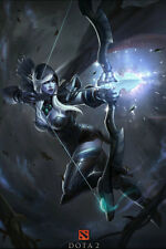"""DOTA 2 Defence Of The Ancients Silk Wall Poster Game Picture 24x36"""" Hot Game"""