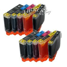 10 cartucce per Canon Pixma iP4200 iP4300 iP5200 MP500 CON CHIP + CHIP