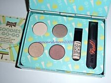 BENEFIT Goodies a Go-Go Eye Kit~Shadow~Stay Don't Stray~They're Real Mascara SET