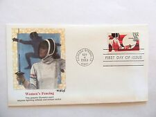 """November 4th, 1983 """"Women's Fencing"""" First Day Issue Airmail"""