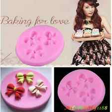 Bowknot Decorating Silicone Fondant Chocolate Mould Sugar Craft Candy Cake Mould