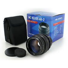 NEW MC Helios 40-2 Manual Focus Lens 85mm f1.5 M42 Mount PENTAX Yashica Zenit