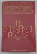 DIFFERENCE ENGINE WILLIAM GIBSON BRUCE STERLING ADVANCE READING COPY ARC 1991
