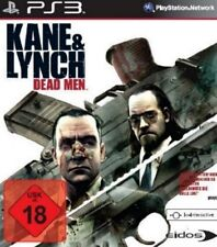 Playstation 3 KANE UND LYNCH DEAD MEN Hitman Deutsch Neuwertig