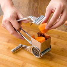 Cake Pastry Handcraft Rotary Cheese Grater Drums Shred Fruit Slice Peeler Decor