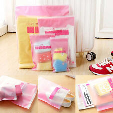 5Pcs/Set Waterproof Clothes Storage Bags Packing Travel Luggage Organizer Pouch