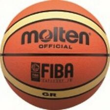 Molten Basketball Street Games FIBA Approved Training Ball Orange / Beige SZ 7