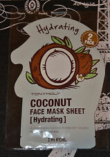 Tony Moly I'm Real - Coconut Face Mask Sheet - Hydrating (2 pack)