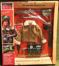 vintage action man 40th anniversary armoured car commander card boxed