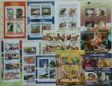 483 all different beautiful MINI SHEETS and SOUVENIR SHEETS NEW Composition  Lot