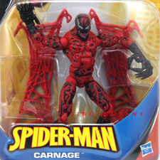 NEW 6in. Gift Toy Spider-Man Classic CARNAGE capture webs legends Action Figure