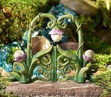 Miniature Fairy Garden Vine Gate  Glow-in the-Dark  700368