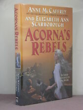 1st, 2 signatures, Acorna's Rebels by Anne McCaffrey & Elizabeth Ann Scarborough