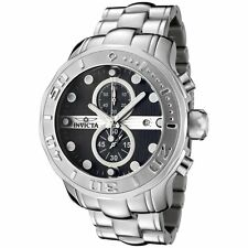 New Invicta 0878 Pro Diver Chronograph Black Textured Dial Stainless Steel Watch