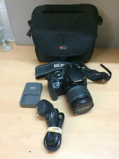 Canon EOS 400D  +EF-S 18-55mm Zoom + Bat + Charger + Bag + 1GB CF Card