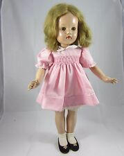 "Vintage Effanbee Anne Shirley 21"" composition doll"
