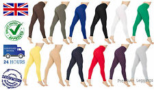 Full Length Cotton Leggings - All Colours and All Sizes - Excellent Quality