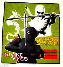 "16 1/2""  G.I.JOE STORM SHADOW CHARACTER WALL SAFE FABRIC DECAL CUT OUT"