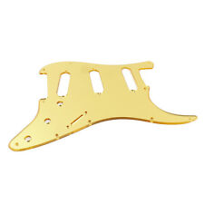 Custom Guitar Pickguard For Stratocaster Strat Standard ,Gorgeous Gold Mirror