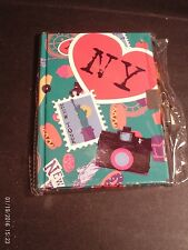 Teen Locking Diary NEW YORK Personal Journal, Lock and Key