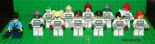 LEGO BATMAN - The Villains / Arkham Asylum Suit - Custom Mini Figure Lot