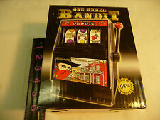 One Armed Bandit Slot Machine Bank--New In The Box