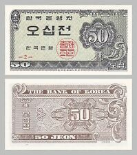Südkorea / South Korea 50 Jeon 1962 p29a unz.
