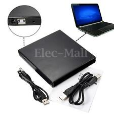 Boîtier Externe USB 2.0 IDE CD DVD RW ROM Drive Enclosure Pr PC Laptop Notebook