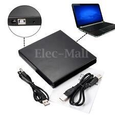 Boîtier Externe USB 2.0 IDE CD DVD RW ROM Drive Enclosure Pr PC Laptop Notebook