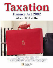 Taxation: Finance Act 2002, Melville, Alan