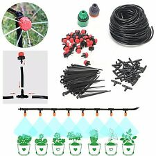 Drip Lrrigation Kits Automatic System Watering Flower Plant Garden Nozzle Lawn