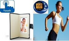 Buy an Extraordinary Touch screen Digital Photo frame & Get a Pedometer for Free