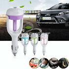 4 color 12V Car Air Humidifier Aromatherapy Essential Oil Diffuser Car Cigarette