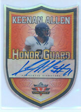 Keenan Allen 2013 Leaf Valiant Honor Guard Orange on card Auto Rc 2/25 Chargers