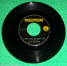 "PHILIPPINES:CLIFF RICHARD - I Only Live To Love,7"" 45 RPM,rare,1960's PARLOPHONE"