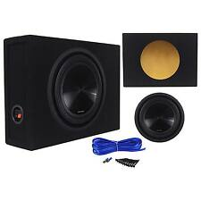 Alpine SWT-10S2 10-Inch 1000W Shallow Subwoofer + Shallow Sub Enclosure