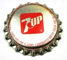 7up 7 Up Kronkorken USA Soda Bottle Cap Plastikdichtung mit Logo