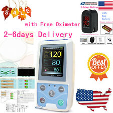 FDA Ambulatory Blood Pressure Patient Monitor 24h NIBP Holter , CONTEC ABPM50.