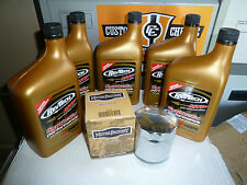 harley davidson v rod full synthetic rev tech oil chrome filter kit,best quality