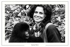 SIGOURNEY WEAVER AUTOGRAPH SIGNED PHOTO PRINT GORILLAS IN THE MIST